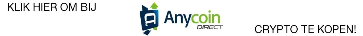 AnycoinDirect crypto exchanges; koop hier uw cryptomunten!